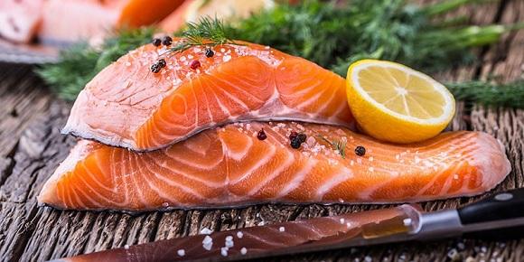 Cá hồi bổ sung omega 3